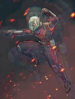 Ant-man or Giant-man ? by BryanValenza