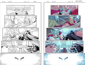 Marvel sample page_THOR 04 by BryanValenza