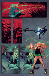 Witchblade #3 page 15 by BryanValenza
