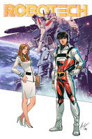 ROBOTECH Cover by BryanValenza