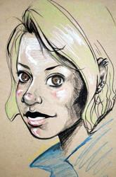 Toned Paper Doodle by Amiiya
