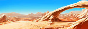 Desert by Minikaw