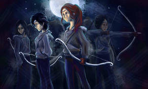 Hunters of Artemis by taratjah