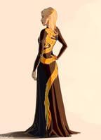 Dragon Dress by taratjah
