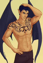 Rhys Tattoos by taratjah