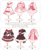 [SET PRICE|CLOSE]OUTFIT BATCH by krianart
