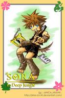 Sora in Deep Jungle by J4ne-d-C4t