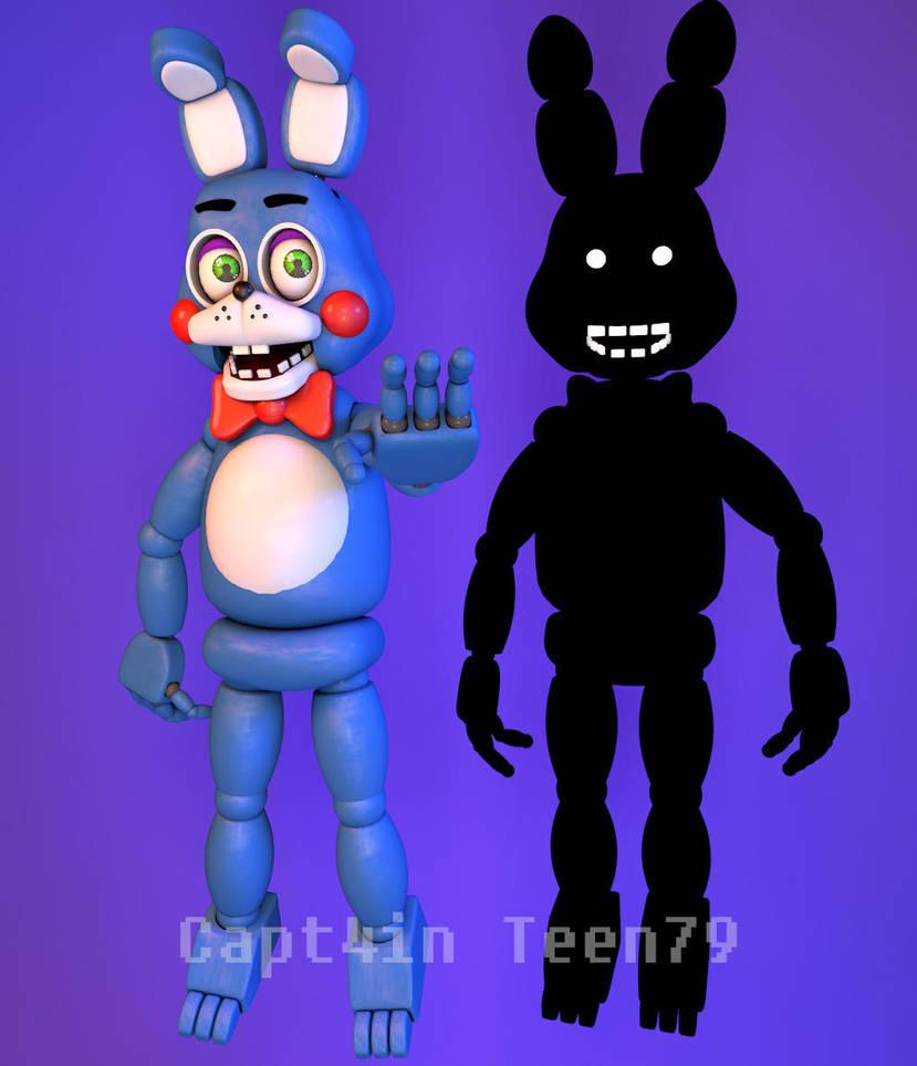 toy bonnie and shadow bonnie by capt4inteen79 on deviantart
