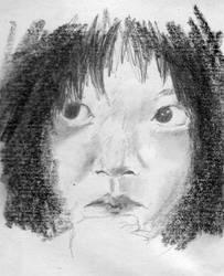 Sketch: Yuna from Snowpiercer by leavetheviolinalone