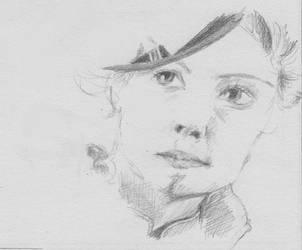 Sketch: Susan by leavetheviolinalone