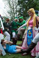 Zelda And Link by UndyingMagic