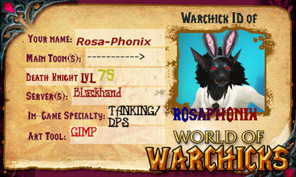 warchick id RosaPhonix-Horror.. by Rosa-Phonix