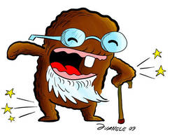 Domo the old coot by Juanele