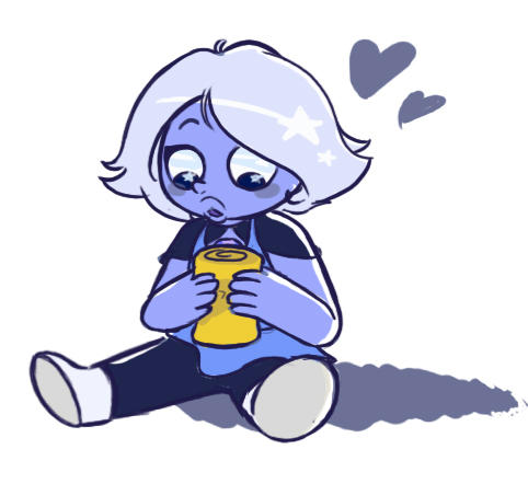 Have a tiny Amethyst discovering the wonders of food for the first time~ We must protect tiny Amethyst. Precious gem, too good for this world.