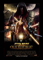 Movie Poster: Knights of the Old Republic by Uebelator