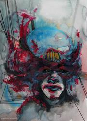Crimson Mask by PellucidMind
