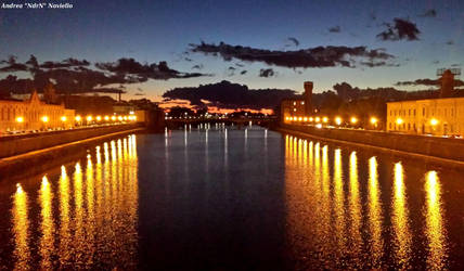 Sunset in Pisa 05 by NdrN