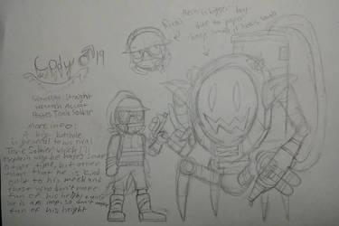 (WIP) Cody the Toxic Imp by GardenWarfareFan