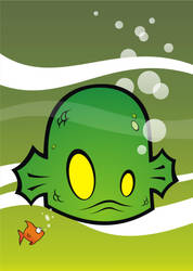 Creature from the Black Lagoon by HeadsUpStudios