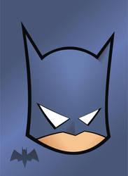 Heads Up Batman by HeadsUpStudios