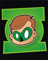 Heads Up Green Lantern by HeadsUpStudios