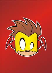 Heads Up Kid Flash by HeadsUpStudios