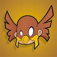Heads Up JSA Hawkman by HeadsUpStudios