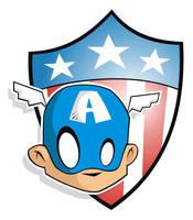 Heads Up WW2 Captain America by HeadsUpStudios