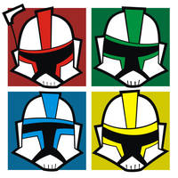Heads Up Clone Troopers 2 by HeadsUpStudios
