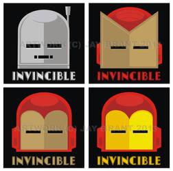 2013 Invincible Prints by HeadsUpStudios