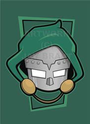 Heads Up Doctor Doom V2 by HeadsUpStudios
