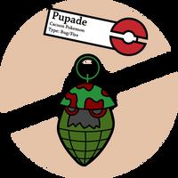 Fake Pokemon: Pupade by Sageroot