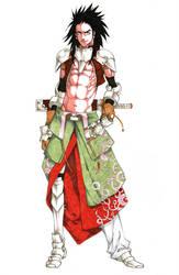 Yoshitsune - The Tengu Knight by MizaelTengu