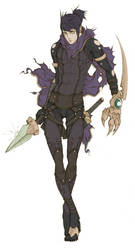 Commissh - Assassin Kei by MizaelTengu
