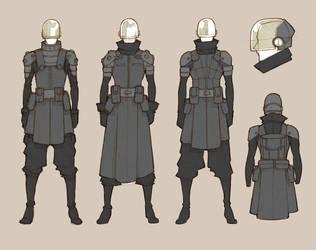[SOLD] Soldiers Standard by MizaelTengu