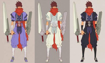 Strider Hiryu - new costume. by MizaelTengu