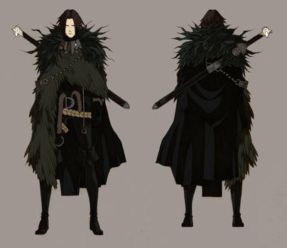 The Crow Jon Snow - concept by MizaelTengu