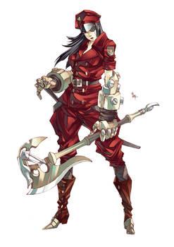 [SOLD] Red Executioner by MizaelTengu