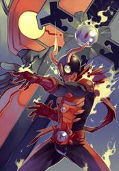 Kamen Rider Diablo by MizaelTengu