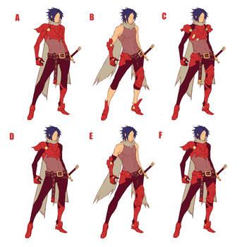Crimson Knight Outfit Rework by MizaelTengu