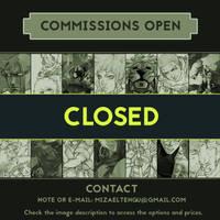 Commissions Closed by MizaelTengu