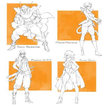 Character Pack #21 - Open by MizaelTengu