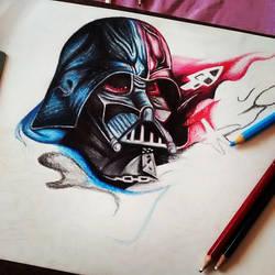 WIP, Darth Vader by CamilaTurrini