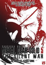 Metal Gear Solid 5 The Silent War Cover by Akatsuya