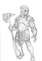 Horseless Headsman by SamwiseTheAwesome