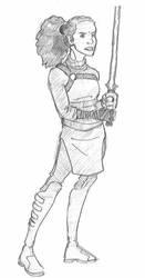 Paroro Kooida - Jedi Crusader by SamwiseTheAwesome