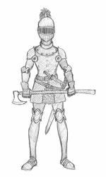 Fem Knight by SamwiseTheAwesome
