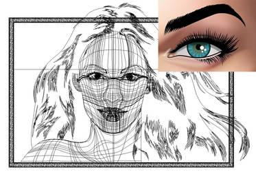 Megan Fox mesh by VectorProfessor