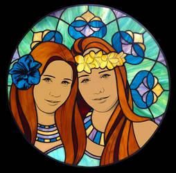 Sisters by VectorProfessor
