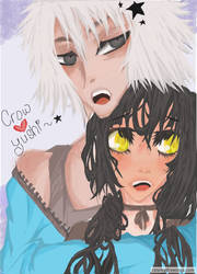 Crow Loves Yushi by Anonymous00Admirer